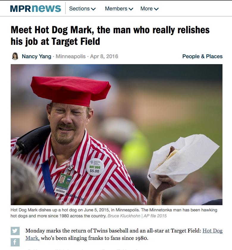 Hot Dog Mark MPR