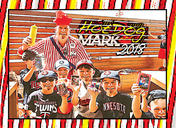 Hot Dog Mark Card 2018